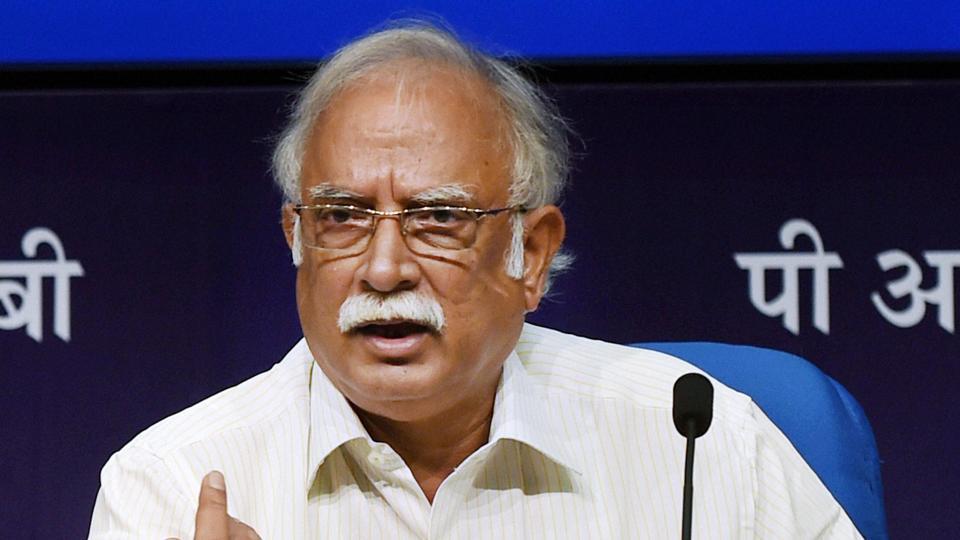 Civil aviation minister Ashok Gajapathi Raju.
