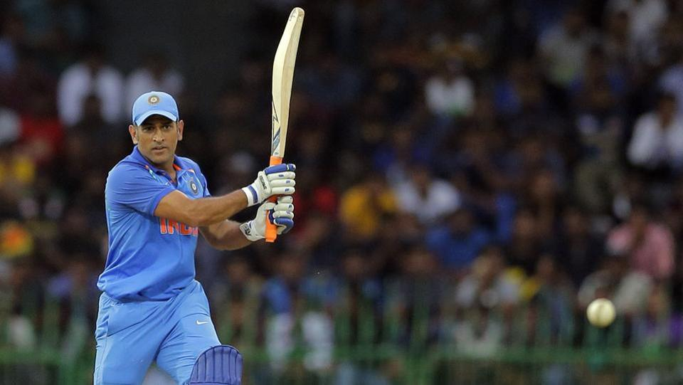 MS Dhoni, playing his 300th ODI, provided late flourish with Manish Pandey's support as their unbeaten 101-run stand powered India to 375/5.  (AP)