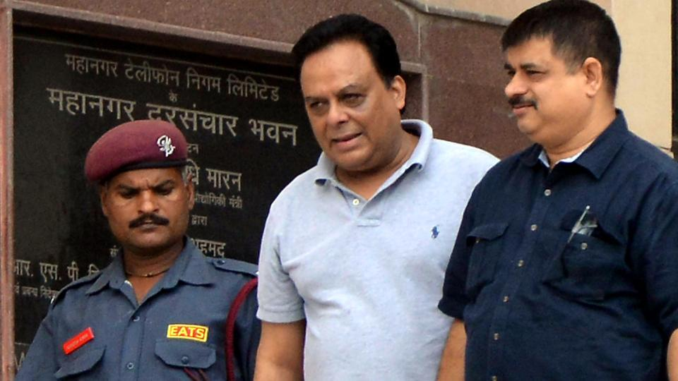 The Enforcement Directorate officer arrested millionaire meat exporter Moin Qureshi in connection with the Rs 200 crore money laundering case in Delhi's Patiala House court in New Delhi, India on August 26, 2017.