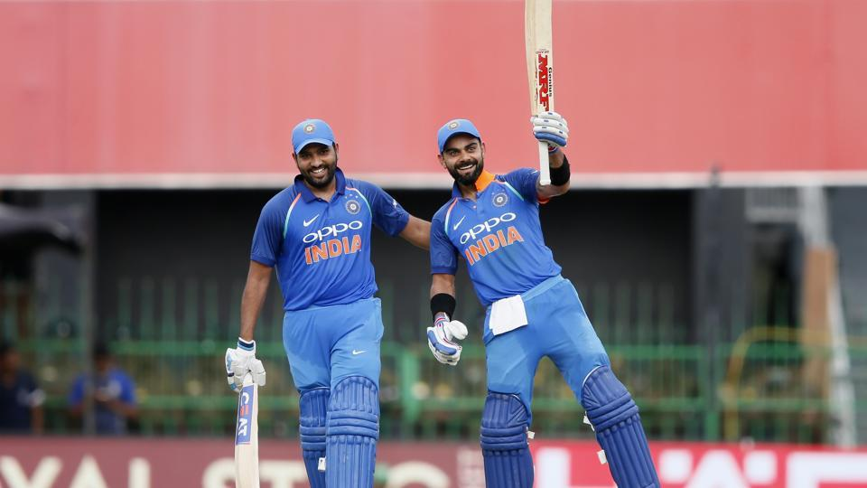 Virat Kohli slammed his 29th hundred after India won the toss and opted to bat vs Sri Lanka in the fourth ODI in Colombo.