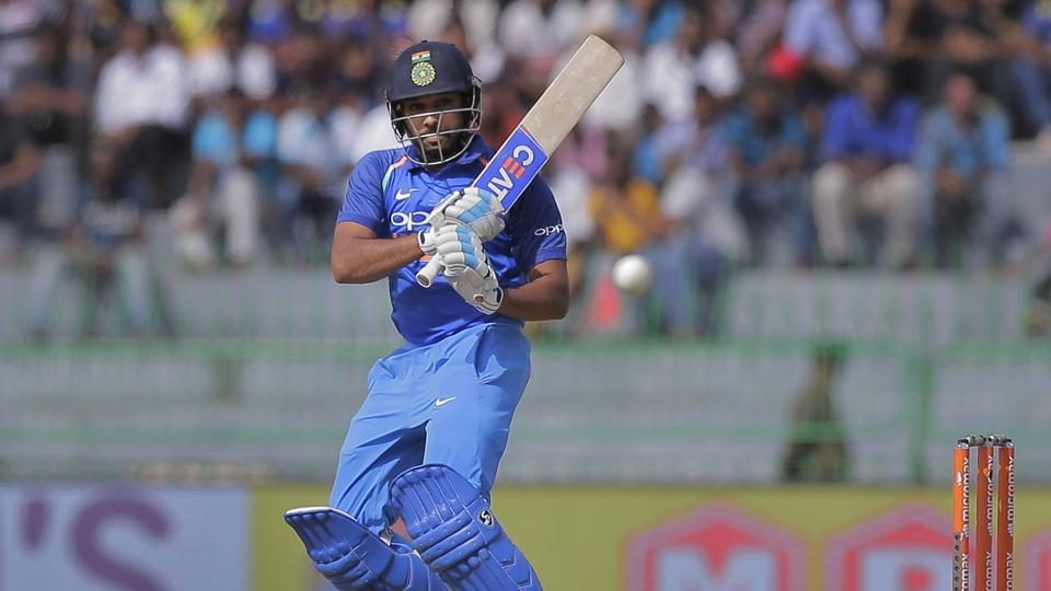 Rohit Sharma also piled on the runs and brought up his half-century.  (AP)