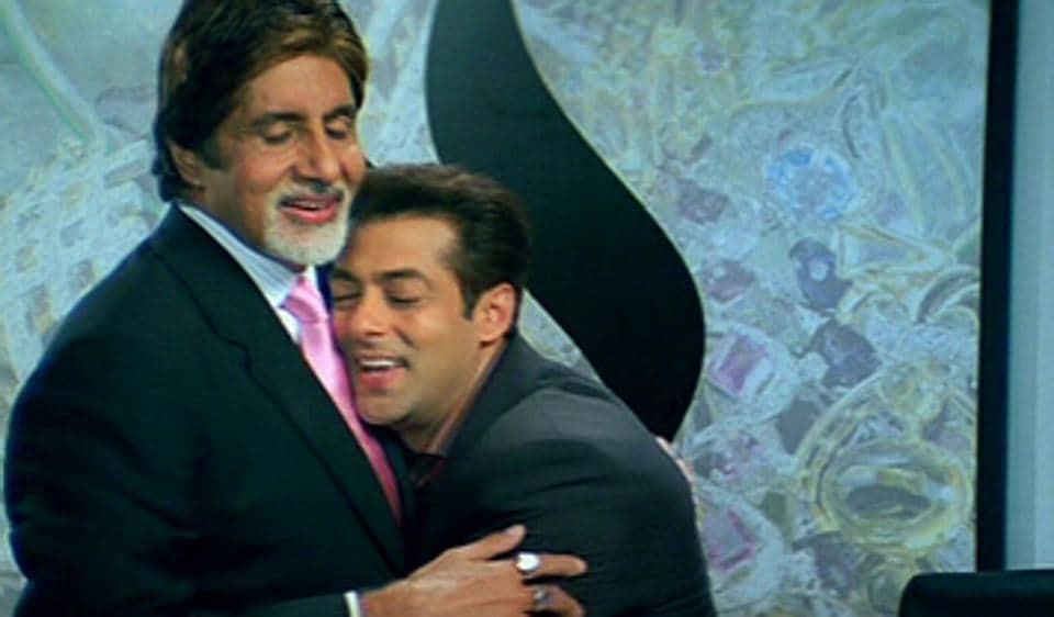 Amitabh Bachchan,Salman Khan,Race 3