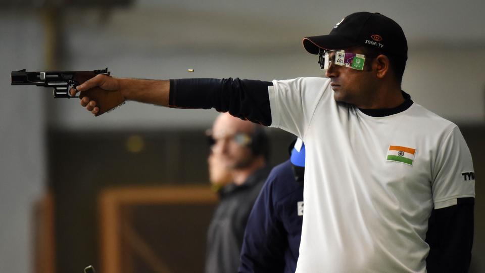 Vijay Kumar,Indian shooting,Shooting