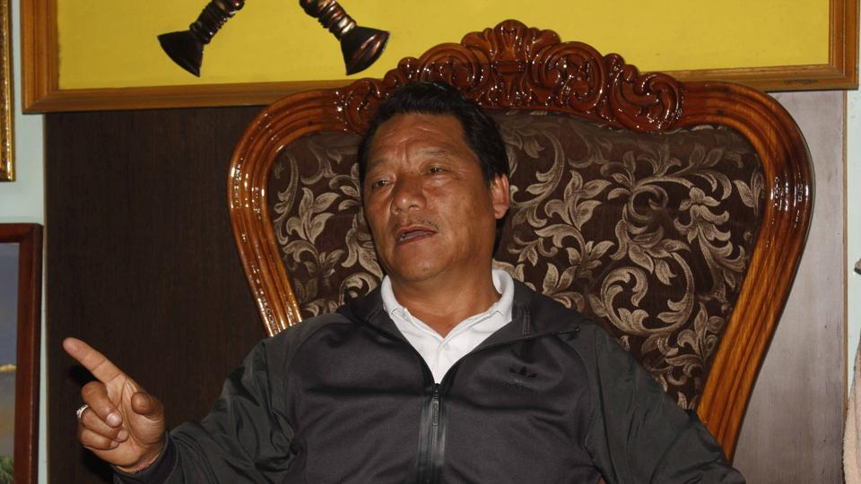 Despite being in hiding, Gorkha Janmukti Morcha president Bimal Gurung seemed to be firmly in control in the hills.