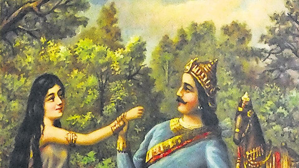 DEVYANI RESCUED FROM THE WELL: Devyani was the daughter of the sage, Sukra. One day, during an altercation, her friend and daughter of king Vrisaparva, Sharmishtha, pushed Dvyani down a well. She was rescued by king Yavati, who ended up marrying her.