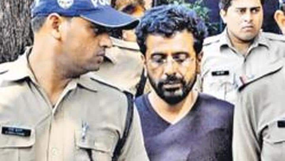 Rajesh Gulati confessed to killing his 33-year-old wife by slamming her head against the wall. (HTPhoto)