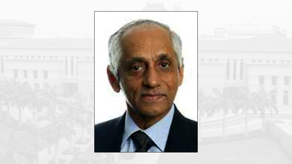 JY Pillay is currently the chairman of the Council of Presidential Advisers. (Photo: Lee Kuan Yew School of Public Policy website)