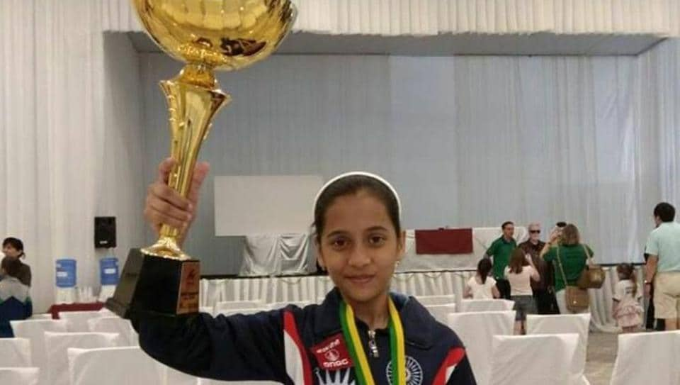 Divya Deshmukh was the only Indian player to win a medal in the U12 World Cadet Chess championship held in Brazil.