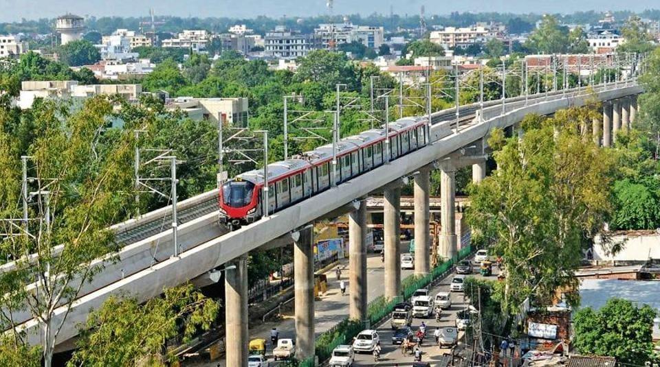 Lucknow metro,LMRC,Greener Lucknow
