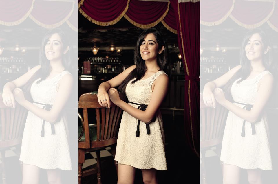 Jonita Gandhi (Jonita wears a dress from H&M)