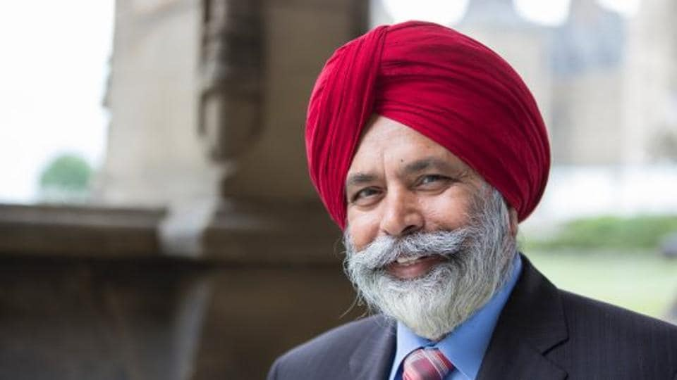 File photo of Indo-Canadian politician Darshan Kang, who has resigned from the Liberal caucus in the House of Commons after facing charges of sexual harassment. This means he will remain an MP but will be unattached to any party.