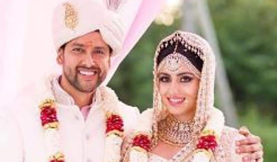 Aftab Shivdasani married his wife Nin Dusanj in a private but royal ceremony in Sri Lanka.