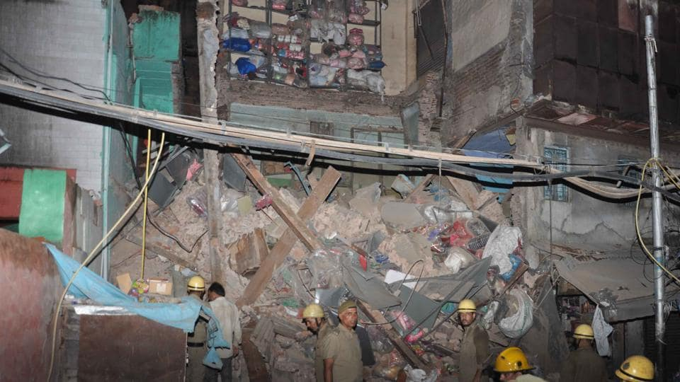 Delhi: Building collapses in Sadar Bazar area; eight fire tenders at spot