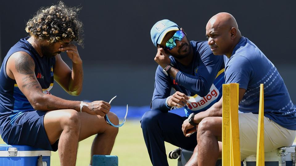 Sri Lankan cricket is going through a crisis after the poor showing in the Test and ODI series vs Indian cricket team, following which the selection led by Sanath Jayasuriya (R) has resigned. Lasith Malinga (L) is also going through a lean patch, and limited-overs skipper Upul Tharanga is under tremendous pressure to at least win the fifth and final ODI as a face-saving measure.