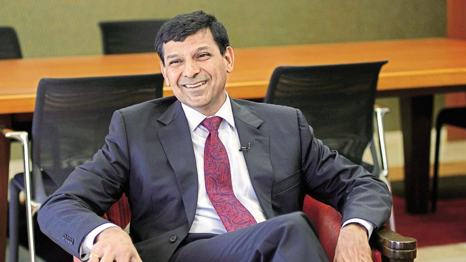 Raghuram Rajan, as governer of Reserve Bank of India, during a conference in Mumbai.