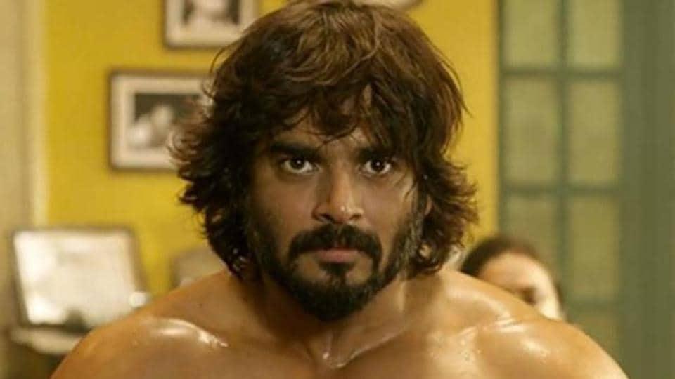 Madhavan played a wrestling coach in Irudhi Suttru.