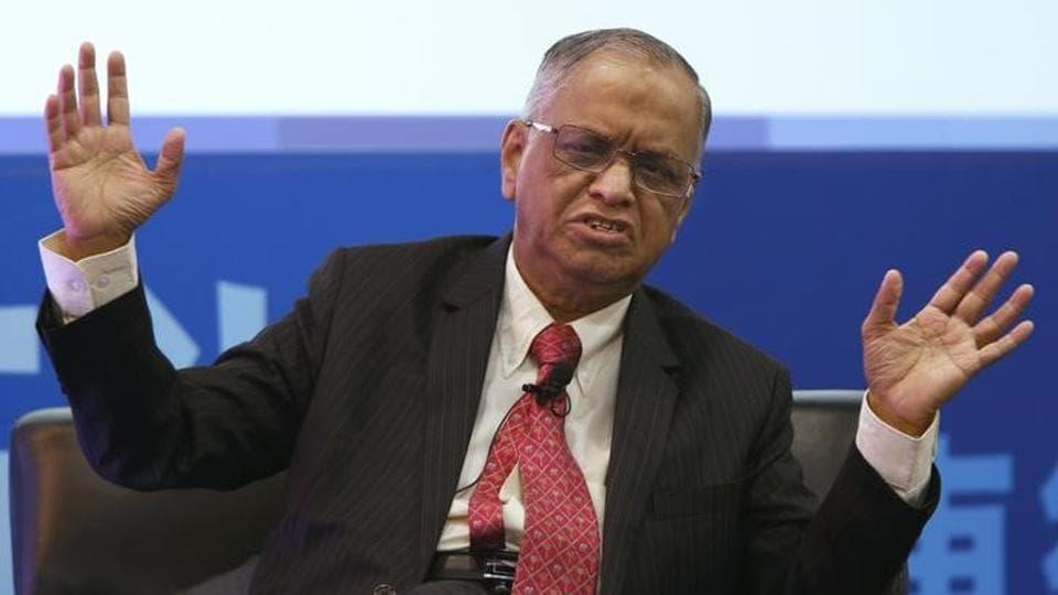 Infosys founder NRNarayana Murthy rallied other co-founders to bring back peer Nandan Nilekani. (Reuters)