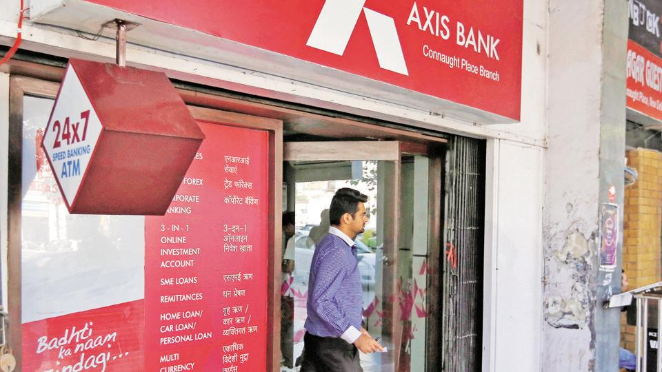 The Axis Bank stock closed 1.4% up at Rs 507.65 on BSE.