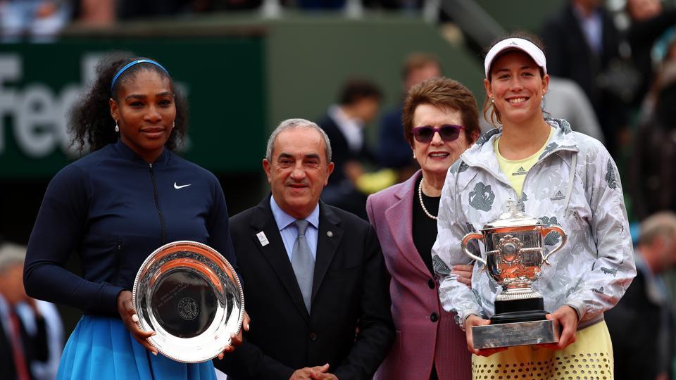 Serena Williams gave birth to a baby girl and Garbine Muguruza has congratulated the 23-time Grand Slam winner following her win in the USOpen 2017.