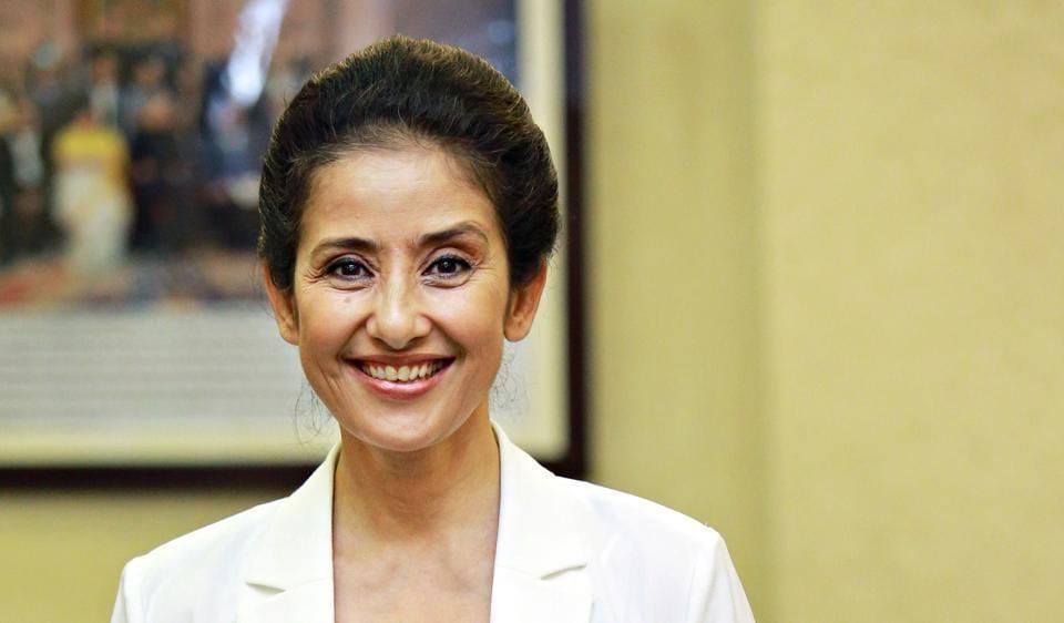 Manisha Koirala unveils her book Healed