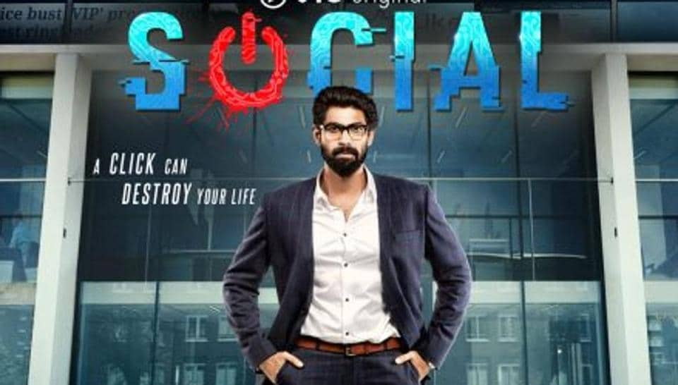 Rana Daggubati will debut on the web with series called Social.
