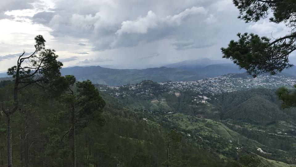 View from Cranks's Ridge.