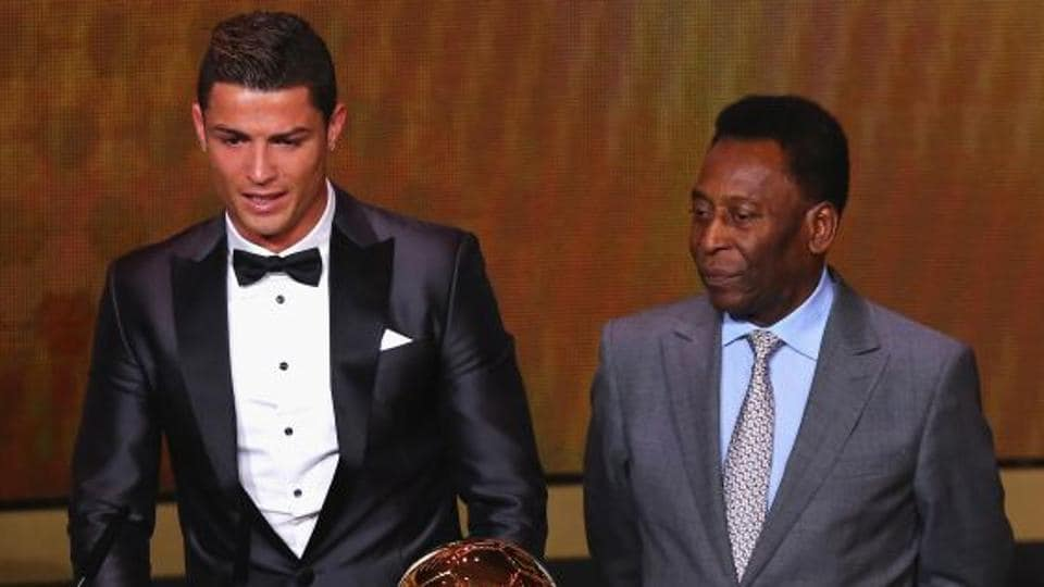 Cristiano Ronaldo,Pele,Pele Twitter