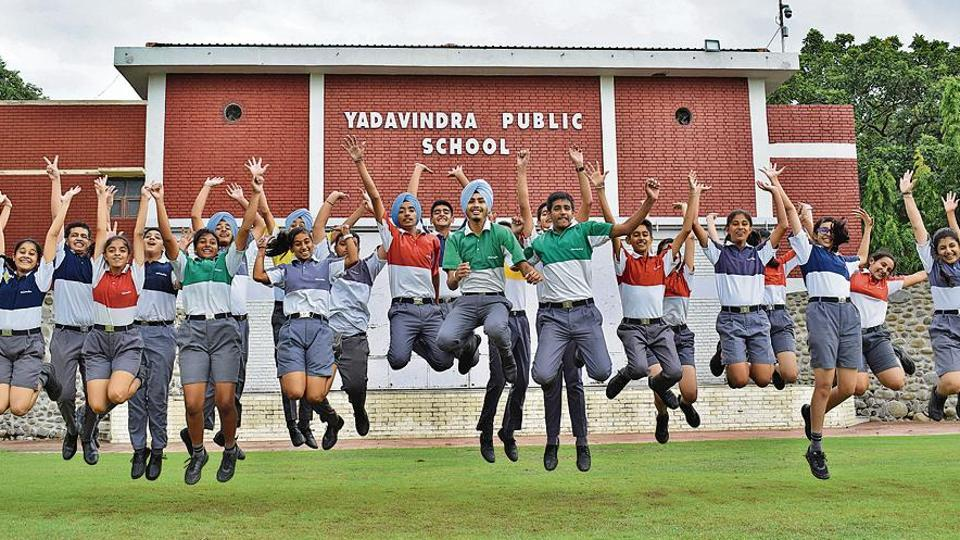Yadavindra Public School, Mohali, has a strength of 1,760 students taught by 'an army' of 120 teachers in 30 senior wing, 22 junior wing and 12 kindergarten classes.