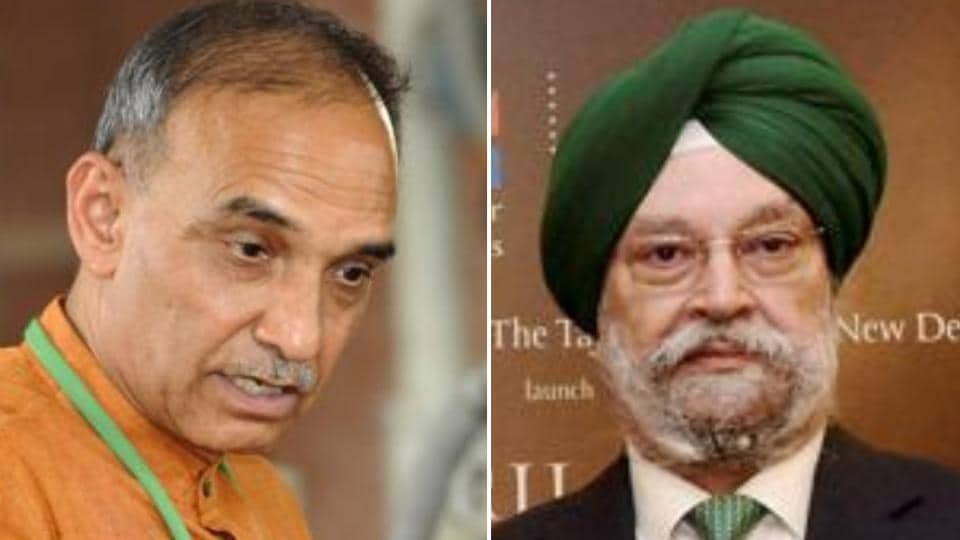 Former Mumbai police commissioner Satyapal Singh and ex-diplomat Hardeep Singh Puri are the new ministers who will take oath to enter the Narendra Modi-led government on Sunday.