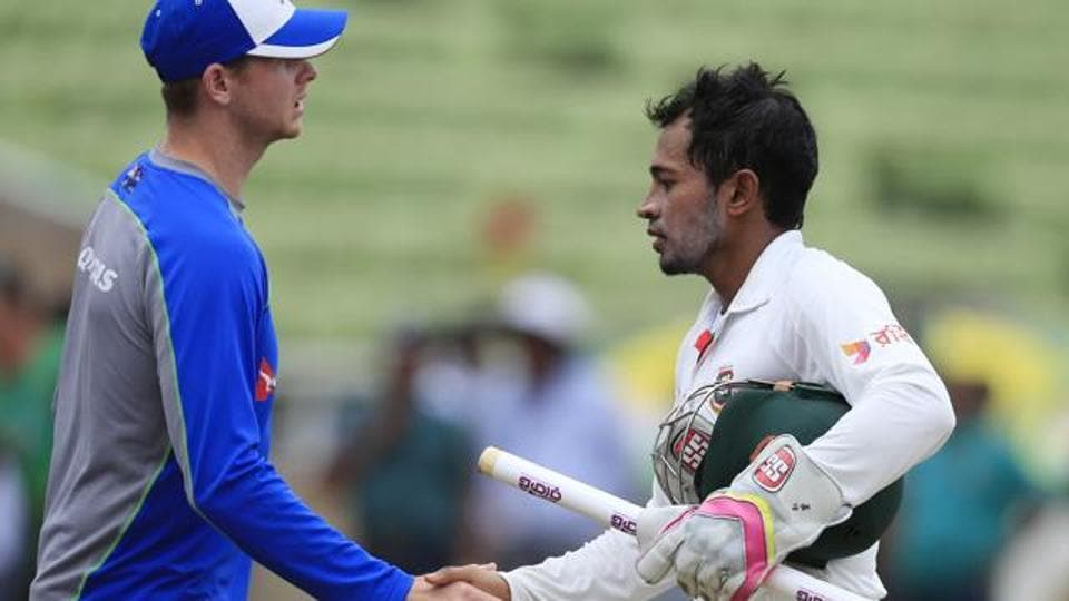 Bangladesh cricket team defeated Australia by 20 runs in Mirpur to go 1-0 up in the two-Test series.