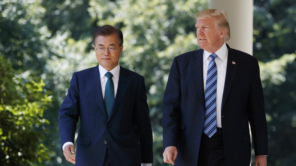 Donald Trump,South Korea,North Korea