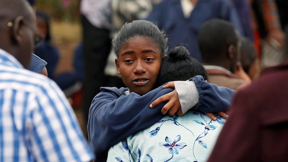 Kenyan schoolgirls,School dormitory,Fire
