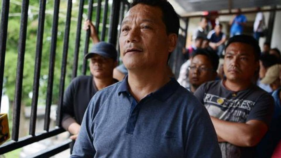 Bimal Gurung, head of the Gorkha Janmukti Morcha (GJM) party that seeks the creation of a separate state of Gorkhaland.