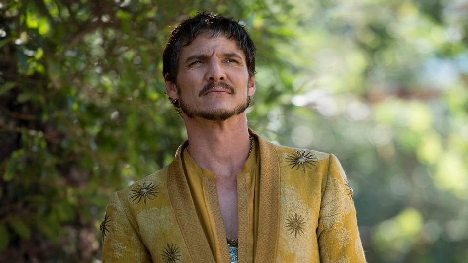 Pedro Pascal as Prince Oberyn Martell in Game of Thrones.