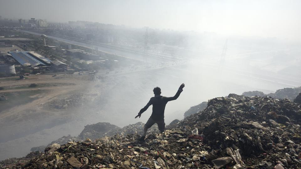 Ghazipur,Delhi news,landfill site