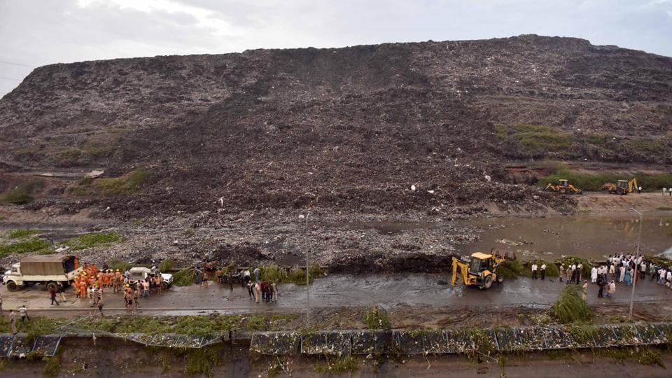 Ghazipur,Ghazipur landfill,Delhi