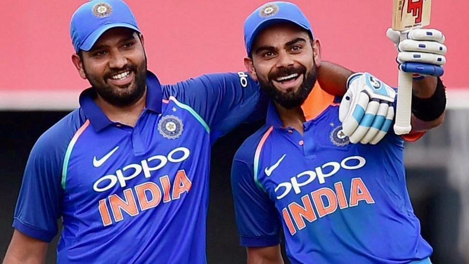 Virat Kohli and Rohit Sharma have both enjoyed a great run of form during the ODI series against Sri Lanka.