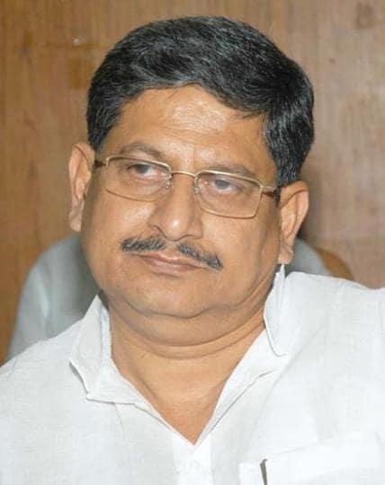 Bihar water resources minister Rajiv Ranjan Singh aka Lalan Singh.