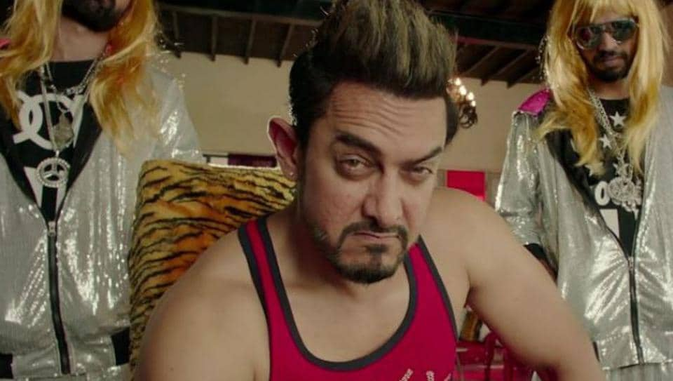 Aamir Khan plays the mentor to Zaira Wasim's lead character in Secret Superstar.