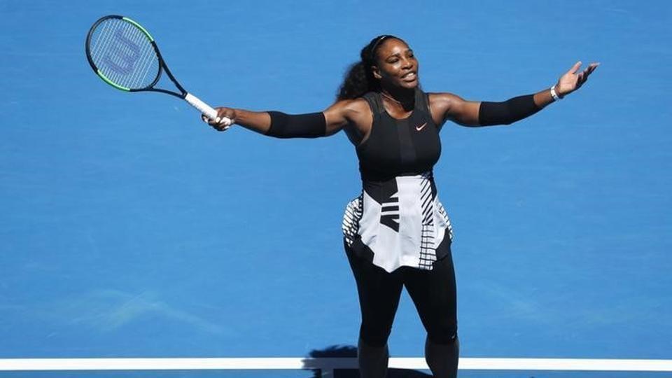 Grand Slam singles champion Serena Williams during a match.