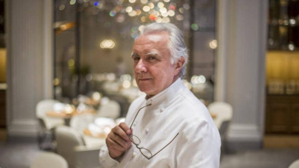 Chef Alain Ducasse holds 18 Michelin stars for his numerous restaurants.
