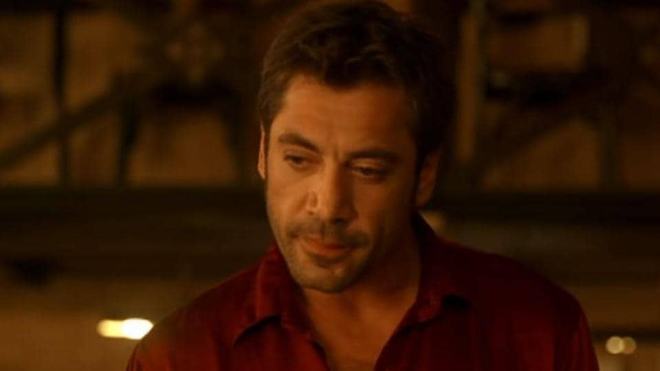 Javier Bardem in a still from Vicky Cristina Barcelona.