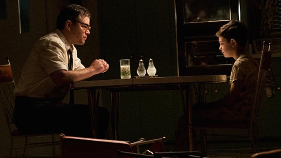 Suburbicon stars Matt Damon, Julianne Moore and Oscar Isaac in the lead roles.