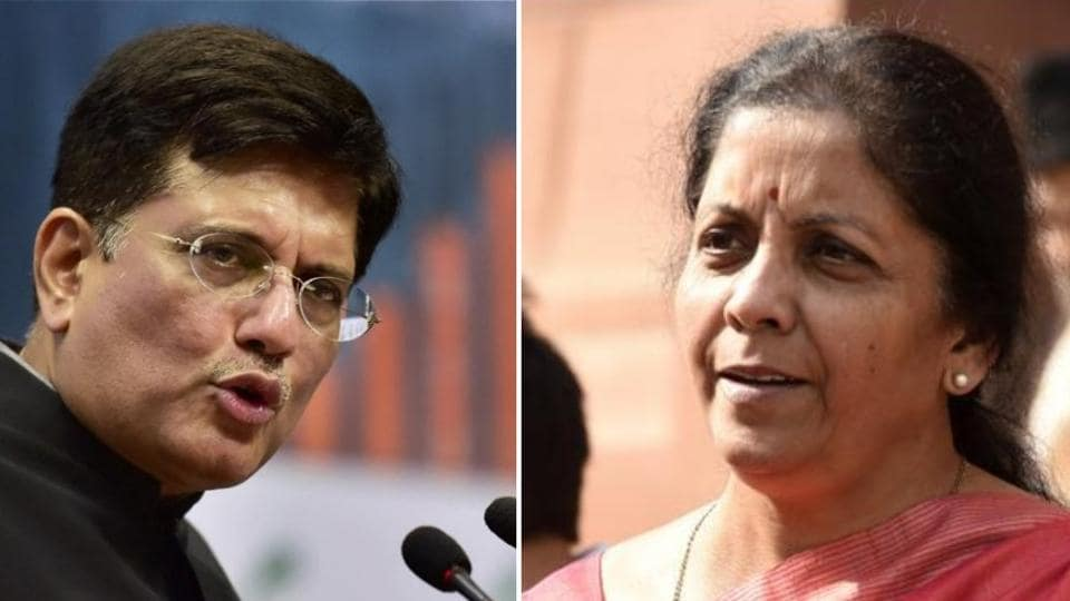 Nirmala Sitharaman, Piyush Goyal, Mukhtar Abbas Naqvi and Dharmendra Pradhan were elevated to cabinet rank at a star-studded swearing-in ceremony in the historic Durbar Hall of the Rashtrapati Bhavan.