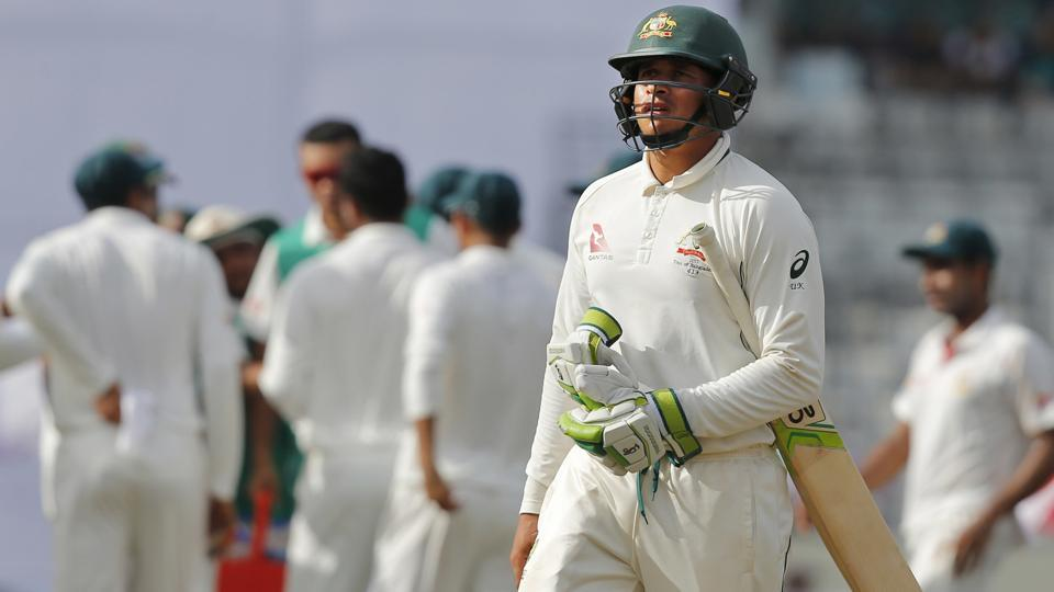 Australia were defeated by Bangladesh in the first Test match in Mirpur.