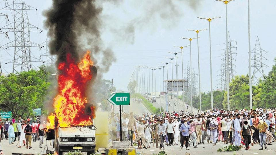 Thirty-eight people were killed in violence that ensued after the conviction of self-styled godman Gurmeet Ram Rahim in a rape case.