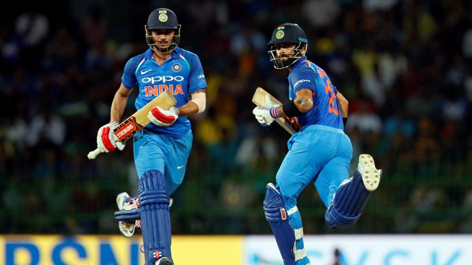 However, Virat Kohli and Manish Pandey steadied the ship and took India within striking distance of the target.  (REUTERS)