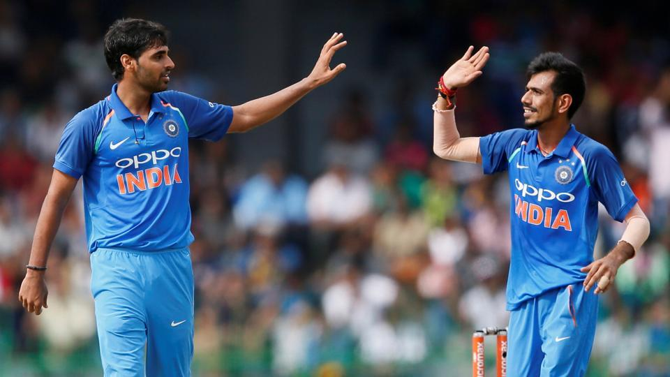 Bhuvneshwar Kumar got an early wicket as Sri Lanka started in the worst way possible.  (REUTERS)