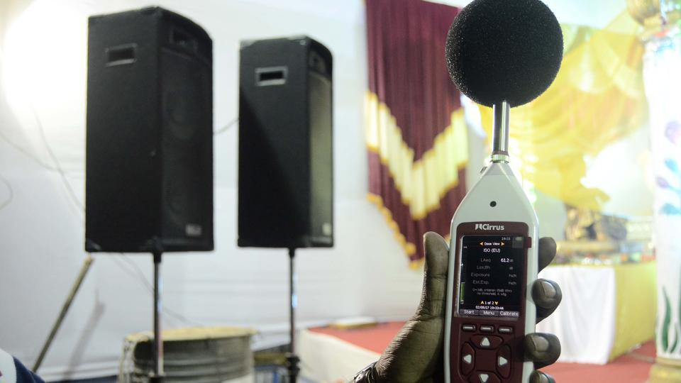 This year, the police limited the number of loudspeakers that could be installed by mandals and made the presence of a music system operator mandatory to control the sound levels.