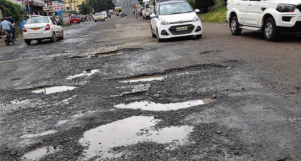 It will take the civic authorities nearly two years to complete the road repair work.